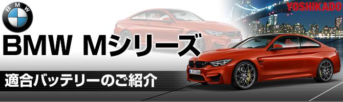 BMWMシリーズ 適合バッテリー