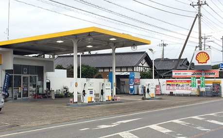 森石油店 結城南SS|昭和シェル石油