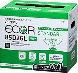 近年のエコカーに対応したバッテリー